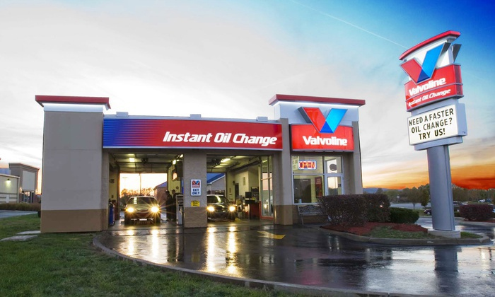 Valvoline Instant Oil Change - Multiple Locations: Oil Change at Valvoline Instant Oil Change (50% Off). Three Options Available at Two Locations.