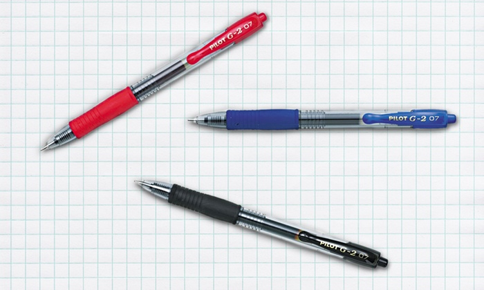 Pilot G2 Gel-Ink Pens: Pilot G2 Gel-Ink Pens (12-Pack). Multiple Colors Available. Free Returns.