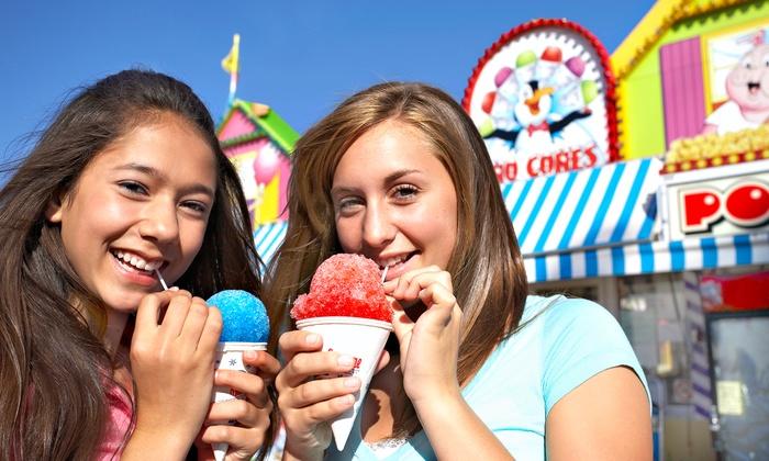 Midway of Fun - San Joaquin County Fair: $17 for Carnival Rides at The Midway of Fun Carnival at San Joaquin Asparagus Festival ($30 Value)