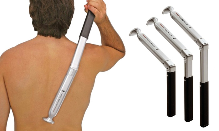 Mangroomer back hair shaver groupon goods mangroomer electric back hair shaver solutioingenieria Choice Image
