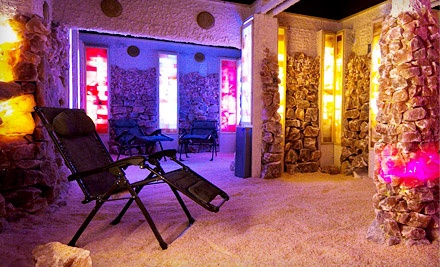 One or Three 45-Minute Salt-Cave Visits at SaltWonder (Up to 59% Off)