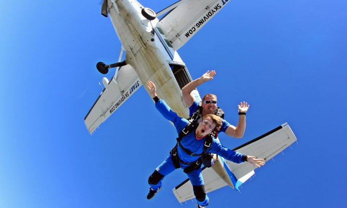 Start Skydiving - Middletown: Tandem-Skydiving Jump for One or Two with Optional Video from Start Skydiving (Up to 54% Off)