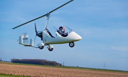 15, 30, 45 oder 60 Min. Traghubschrauber-Rundflug bei der UL Flugschule Rheinland (bis zu 52% sparen*)