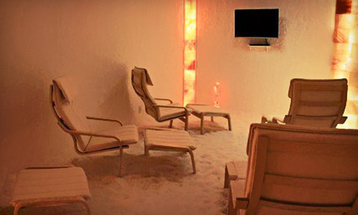 Sea Salt Therapy - Campbell: Three or Five 45-Minute Sea-Salt-Therapy Sessions at Sea Salt Therapy (Up to 74% Off)
