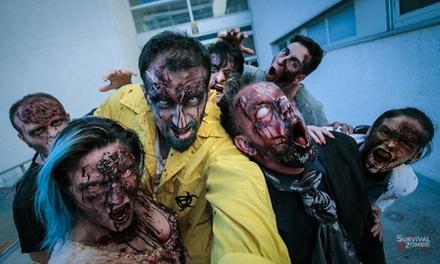 Entrada a Survival Zombie para hasta 3 supervivientes o 1 zombie del 14 al 25 de julio desde 2,50 €