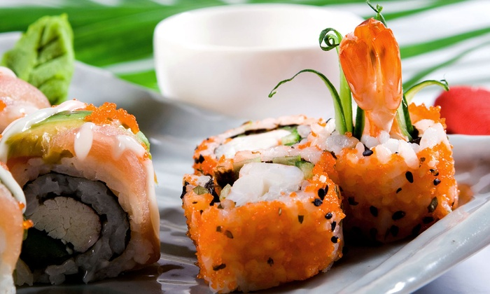 Asian Station 82nd - Upper East Side: $29 for a Japanese Meal with Appetizer, Sushi, and Drinks for Two at Asian Station 82nd (Up to $66 Value)