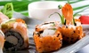 Asian Station - Upper East Side: $29 for a Japanese Meal with Appetizer, Sushi, and Drinks for Two at Asian Station 82nd (Up to $66 Value)