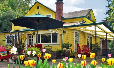 1- or 2-Night Stay for Two with Optional Winery Passes at Sonoma Orchid Inn in Guerneville, CA