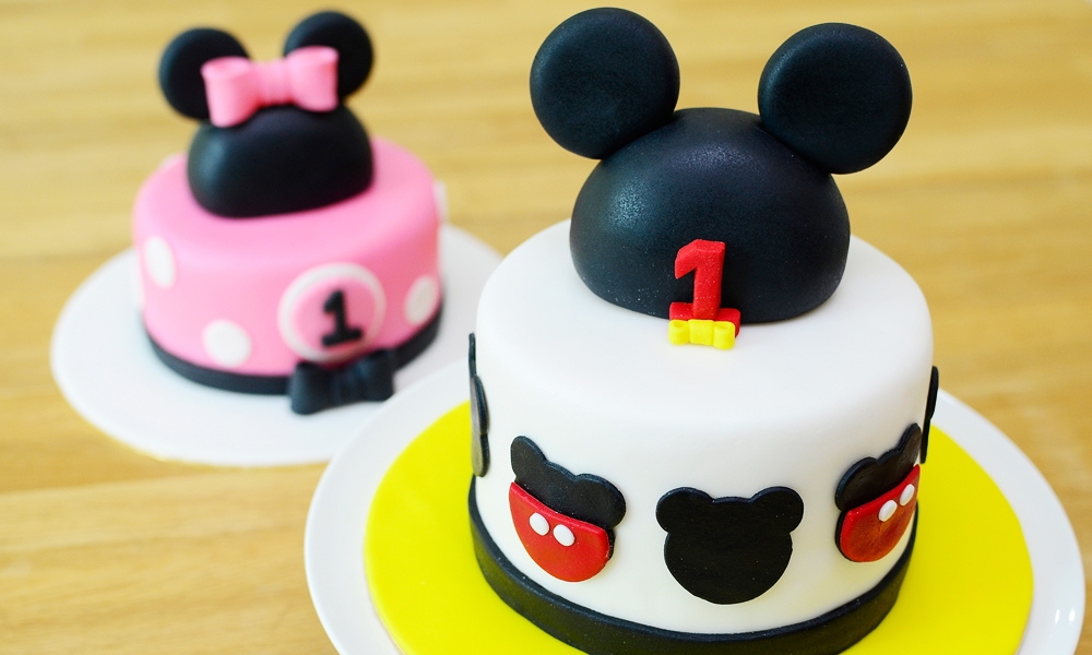 Assez Up to 60% Off] Mickey or Minnie Mouse Fondant Designer Cake from  FQ69