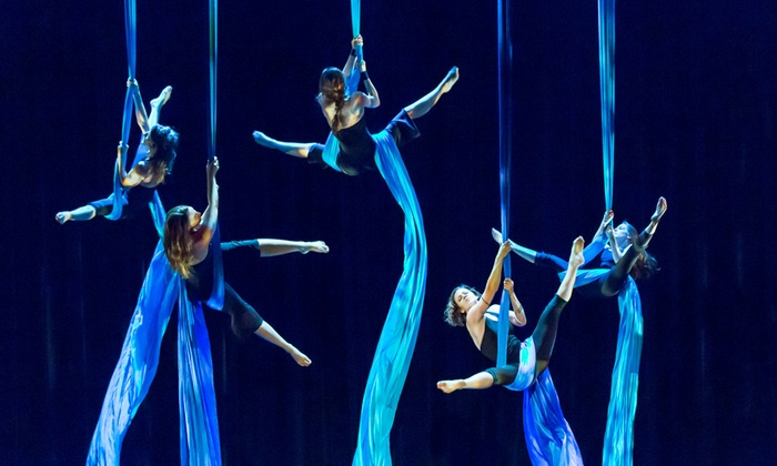 Blue Lapis Light - Austin: Two or Four Aerial Silks Conditioning Classes at Blue Lapis Light (Up to 56% Off)