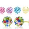 Kids' Crystal Earring Sets with Swarovski Elements (2-Pack)