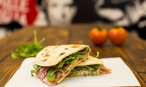 DinaDina Restaurant: Two-Course Italian Street Food Meal with Drink For Up to Four at DinaDina Restaurant