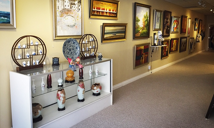 K Gallery - Pasadena: $25 for $50 Toward Painting and Ceramic Art at K Gallery. Two Options Available.