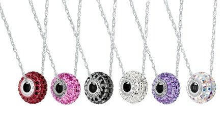 Be Charmed Pendants with Swarovski Elements Crystals in Sterling Silver