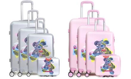 Fino a 4 valigie Lulu Castagnette disponibili in 4 modelli e 3 colori