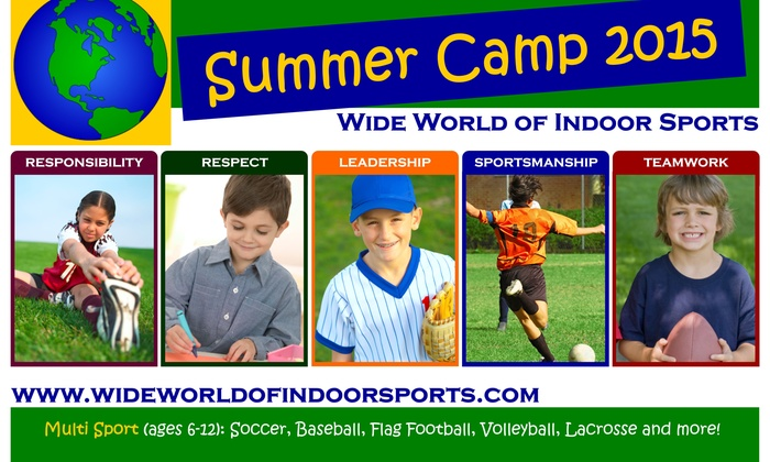 Wide World of Indoor Sports - Wide World of Indoor Sports - North Smithfield: Up to 60% Off Sports Camp for 1 or 2 children at Wide World of Indoor Sports - North Smithfield