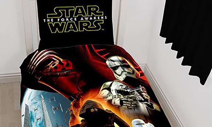 parures frozen minions star wars groupon shopping. Black Bedroom Furniture Sets. Home Design Ideas