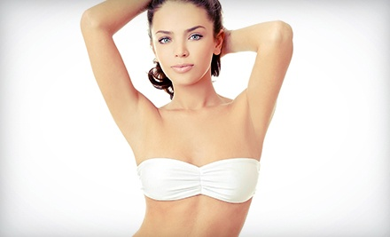 Six Laser Hair-Removal Treatments on a Small, Medium, or Large Area at Bare Elegance MedSpa (Up...
