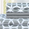 Chic Home Taryn Brushed Microfiber Striped Sheet Sets (6-Piece)