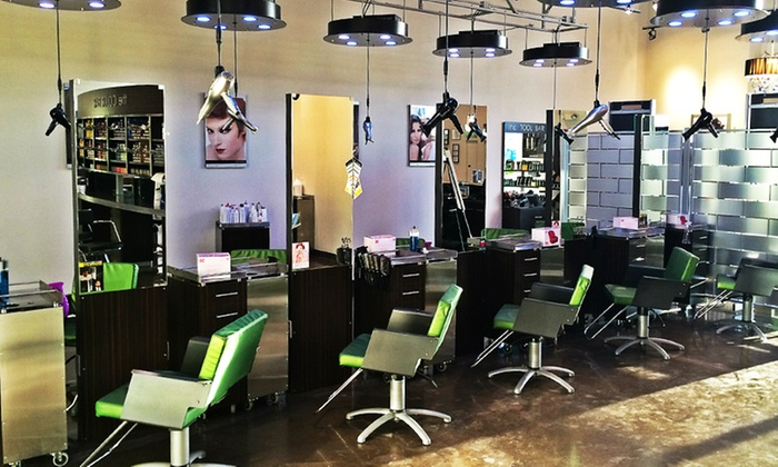 Paul Mitchell the School Tinley Park - Paul Mitchell the School Tinley Park: 1, 2, or 3 Deep-Conditioning Treatments & Blowouts at Paul Mitchell the School Tinley Park (Up to 46% Off)