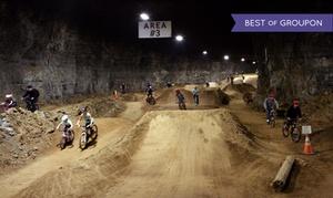 Louisville Mega Cavern: Underground Bike Park Admission for Two or Four at Louisville Mega Cavern