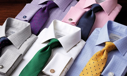 Dress Shirts and Menswear Accessories from Charles Tyrwhitt (Up to 51% Off). Two Options Available.