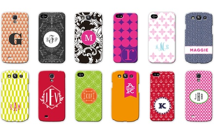 Customizable iPhone 4/4s or 5/5s and Samsung Galaxy S3 or S4 Cases from Mason Row