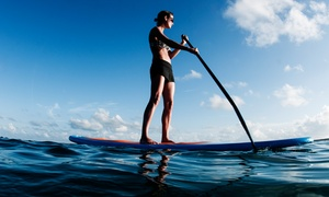 Island Camps: Two-Hour Standup Paddleboard Rental for One or Two from Island Camps (Up to 50% Off)