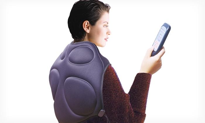 Heated Back and Shoulder Massager: Heated Back and Shoulder Massager