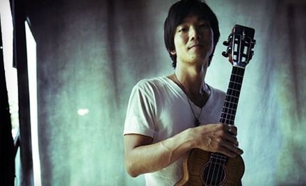 Jake Shimabukuro at the New Jersey Performing Arts Center on Sat., April 14 at 6PM: Balcony or Loge Seating - Jake Shimabukuro in Newark