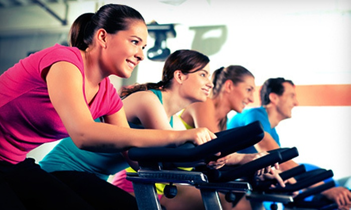 Gables Fitness - Crafts: 5 or 10 Spinning Classes or 5 Red Zone Training Classes at Gables Fitness (Up to 77% Off)