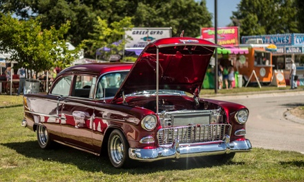 Two or Four Single-Day Spectator Tickets to Cars of Summer Super Show on July 3–5 (Up to 45% Off)