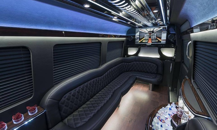 Five West Chauffeur - Chicago: 3- or 6-Hour BYOB Ride in Mercedes Sprinter Limousine for Up to 10 People from Fivewest Chauffeur (Up to 55% Off)