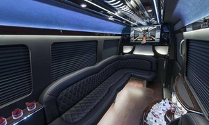 Five West Chauffeur: 3- or 6-Hour BYOB Ride in Mercedes Sprinter Limousine for Up to 10 People from Fivewest Chauffeur (Up to 55% Off)