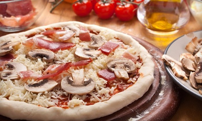 Papa Petrone's Take 'N Bake - Lake Ridge: $10 for $22 Worth of Oven-Ready Pizza, Pasta, and Italian Food at Papa Petrone's Take 'N Bake in Woodbridge