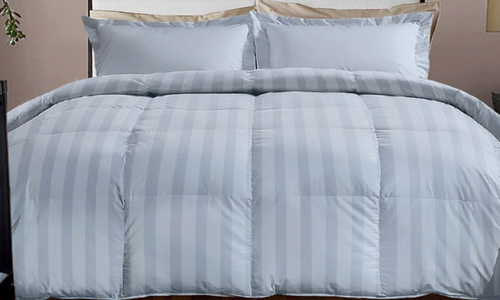 Hotel grand comforter groupon goods for Hotel design 800 thread count comforter