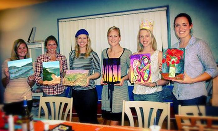 Xpressive Arts Center - Poway: BYOB Painting Class for One or Two at Xpressive Arts Center in Poway (Up to 65% Off)