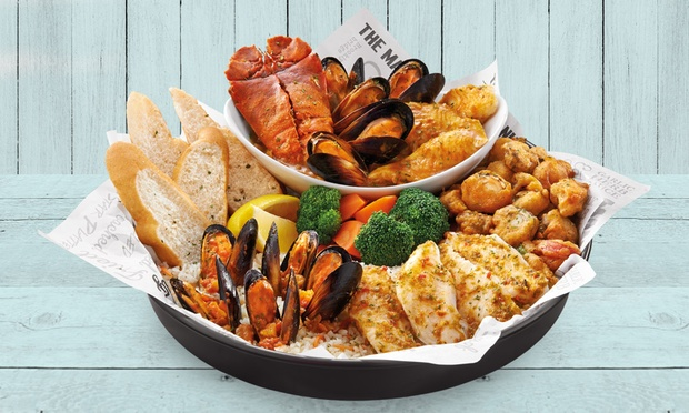 The manhattan fish market meal for Manhattan fish and chicken menu