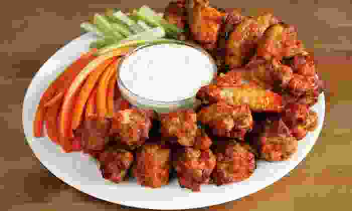 RuChDa Wings - Ruchda Wings-Tucker: Wings, Fries, and Drinks for Two or Four at RuChDa Wings (Up to 46% Off)