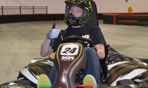 XhilaRacing: $17 for One Adult or Two Youth High-Speed Go Kart Races at XhilaRacing (Up to $30 Value)