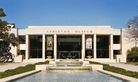 Museum Visit or Membership to Appleton Museum of Art (Up to 50% Off). Four Options Available.
