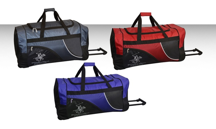 Beverly Hills Polo Club Wheeled Duffle Bags