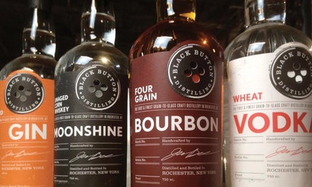 Tour Package with Tasting, Glass, and Store Credit for Two at Black Button Distilling (Up to 47% Off)