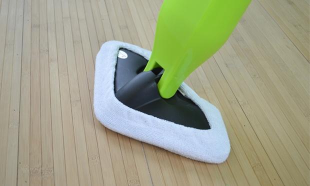 balai vapeur clean up 2 en 1 et ses accessoires groupon. Black Bedroom Furniture Sets. Home Design Ideas
