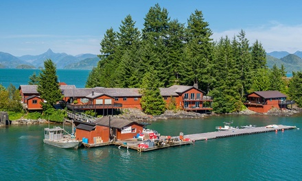 Groupon Deal: 2- or 4-Night Standard or Deluxe or 2-Night Premier Fishing Package for One at Nootka Island Lodge in British Columbia