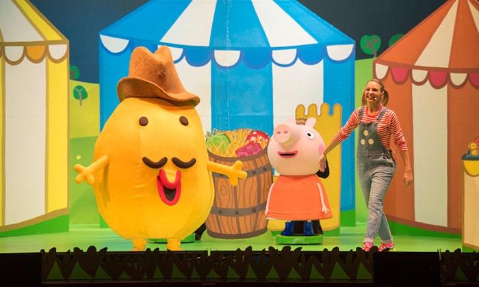 Peppa Pig Live! - The Sanford Center: Peppa Pig Live! Big Splash on March 17, at 6 p.m.