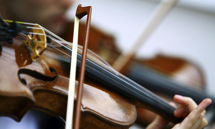 The Violin Center - Cragin: 30-Minute Musical Instrument Lesson at The Violin Center (40% Off)