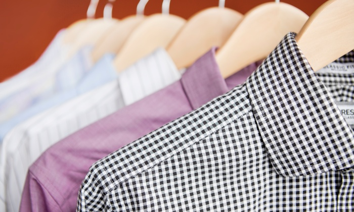 Uptown Cleaners - Grand Rapids: Dry Cleaning or Wedding-Gown-Cleaning Package at Uptown Cleaners (Up to 50% Off). Three Options Available.