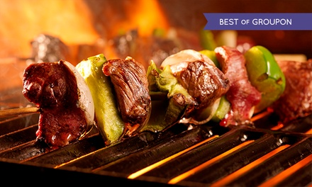AllYouCanEat Brazilian BBQ with Cocktail at Rodizio Rico O2