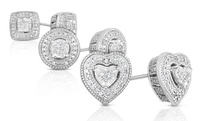 GROUPON: 1/10 CTTW Diamond Stud Earrings 1/10 CTTW Diamond Stud Earrings